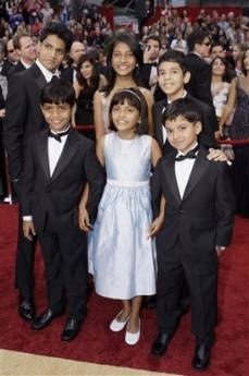 slumdog kid cast oscars